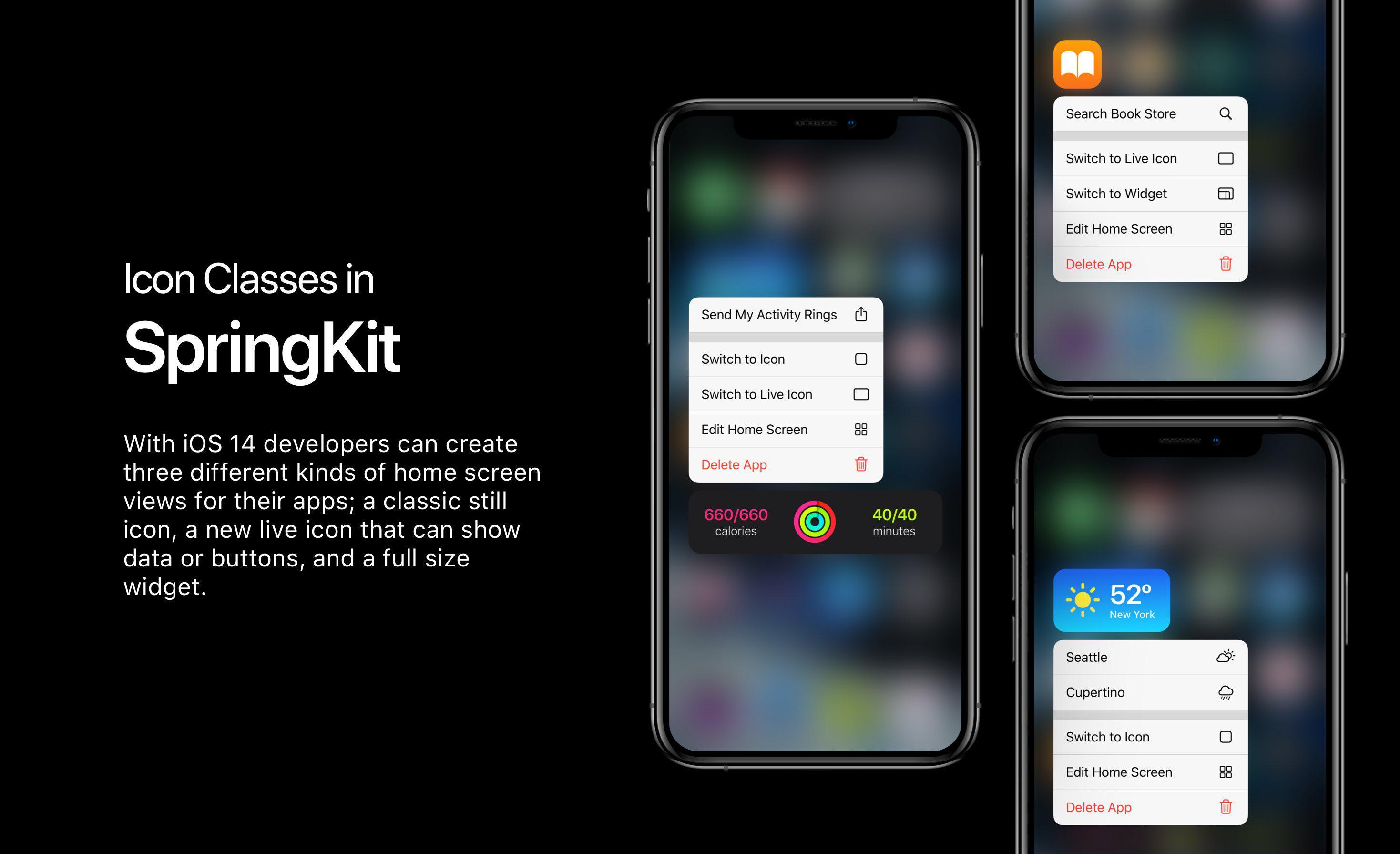 iOS 14 功能提前体验:桌面添加小部件